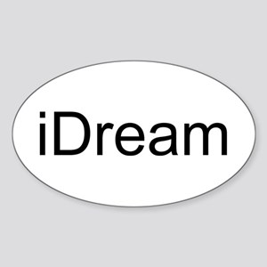 iDream Sticker (Oval)